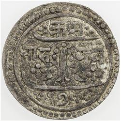 NEPAL: Rajendra Vikrama, 1816-1847, AR 1/2 mohar, SE1755 (1833). VF-EF