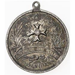 PHILIPPINES: AR medal (13.00g), ND [ca. 1890?]. EF