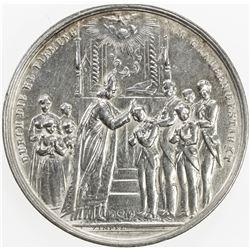 AUSTRIA: AR medal (24.23g), ND (ca. 1850)