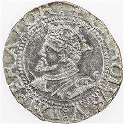 BESANCON: Charles V, 1519-1556, AR carolus, 1542