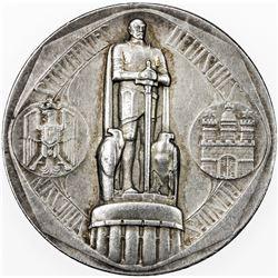 HAMBURG: AR medal (25.91g), 1909. VF-EF