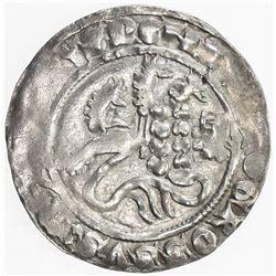 THURINGIA (Thuringen): Friedrich II, 1323-1349, AR groschen, Meissen, ND. F-VF