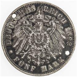GERMANY: AR love token, 1936. VF