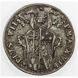 PAPAL STATES: Pius VII, 1800-1823, 1816-B. VF