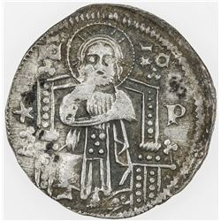 ITALIAN STATES: VENICE: Antonio Venier, 1382-1400, AR grosso. EF