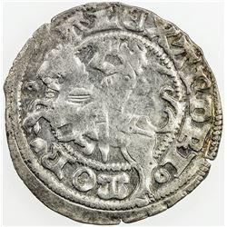LITHUANIA: Aleksandras, 1492-1506, AR pusgrasis, Vilnius, ND