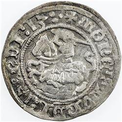 LITHUANIA: Zygimantas I, 1506-1544, AR pusgrasis, Vilnius (15)13