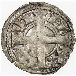 SPAIN: BARCELONA: Alfonso I, 1162-1196, AR dinero, Barcelona. EF