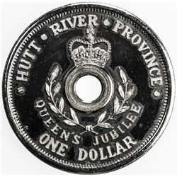 HUTT RIVER PROVINCE: Prince Leonard, dollar, 1977, mintage of 1000, proof