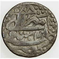 MUGHAL: Akbar I, 1556-1605, AR rupee (11.05g), Sitapur, IE48. VF