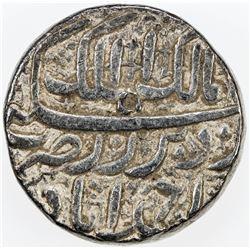 MUGHAL: Selim Shah (Jahangir), 1605, AR rupee (11.35g), Ahmadabad, year 50 (of Akbar) Khurdad, VF-EF