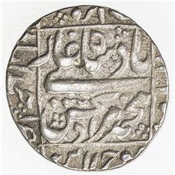 MUGHAL: Murad Bakhsh, 1658, AR rupee, Ahmadabad, AH1068. VF