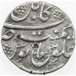 MUGHAL: Aurangzeb, 1658-1707, AR rupee (11.41g), Kabul, ND. EF