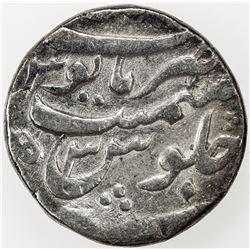 MUGHAL: Aurangzeb, 1658-1707, AR rupee, Patna, AH1071 year 3. F-VF
