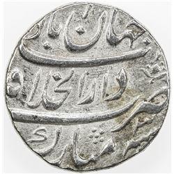 MUGHAL: Shah Alam Bahadur, 1707-1712, AR rupee, Shahjahanabad, AH1121 year 3. EF