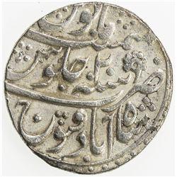 MUGHAL: Muhammad Shah, 1719-1748, AR rupee (11.03g), Shahabad Qanauj, AH115x year 20. VF-EF
