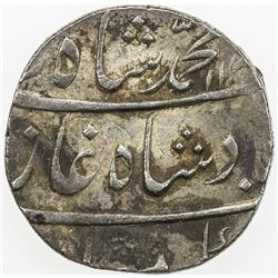MUGHAL: Muhammad Shah, 1719-1748, AR rupee, Zain-ul-Bilad, AH113x year 4. EF