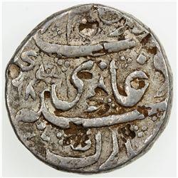 MUGHAL: Alamgir II, 1754-1759, AR rupee, Kankurti, AH(11)68 year 1 (ahad). F