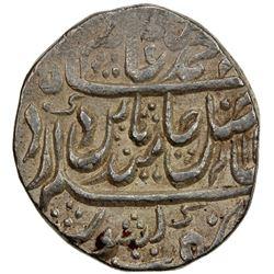 MUGHAL: Shah Alam II, 1759-1806, AR rupee (11.19g), Hathras, year 27. EF