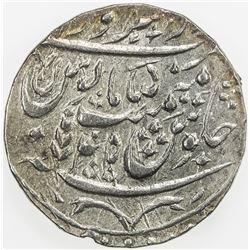 MUGHAL: Shah Alam II, 1759-1806, AR rupee (11.07g), Saharanpur, AH(12)18 year 45. EF