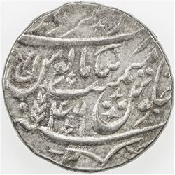 MUGHAL: Shah Alam II, 1759-1806, AR rupee (11.11g), Saharanpur, AH(12)19 year 46. AU
