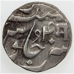 BARODA: Manaji Rao, 1789-1793, AR rupee (11.50g), Baroda, year 4. VF-EF