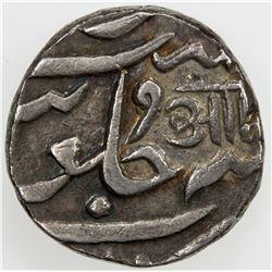 BARODA: Anand Rao, 1800-1819, AR rupee (11.37g), Petlad, ND. VF-EF