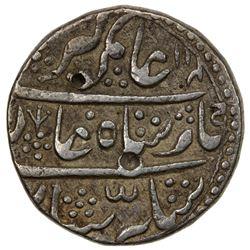 BIKANIR: Gaj Singh, 1746-1786, AR rupee (11.21g), Baldat Bikanir, year 2. VF