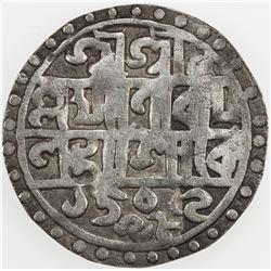 COOCH BEHAR: Lakshmi Narayan, 1587-1627, AR rupee, SE1509/CB98 (1587). F