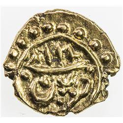 MYSORE: AV fanam (0.37g), Patan, AM1218 (1789). AU