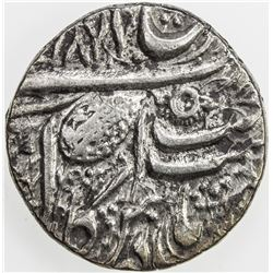 SIKH EMPIRE: AR rupee, Amritsar, VS1877. EF