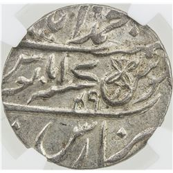 BENGAL PRESIDENCY: AR rupee, Muhammadabad Banaras, AH1229 year 17-49. NGC MS63