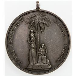 BRITISH INDIA: AR medal (18.28g), ND. EF