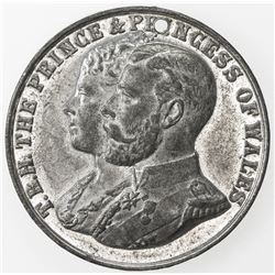 BRITISH INDIA: medal (15.86g), 1905-6. EF-AU