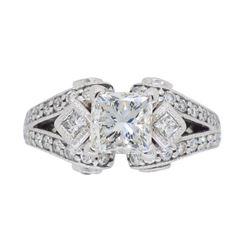 18KT White Gold 2.32ctw Diamond Ring