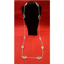 144ctw Aquamarine Necklace