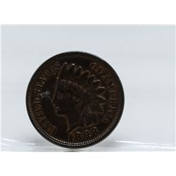 1898 Indian Head One Cent Coin