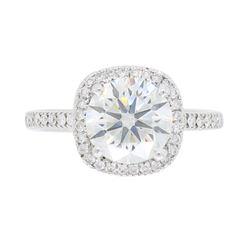 18KT White Gold 1.65ct GIA Cert Diamond Ring
