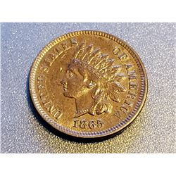 1865 Indian Head Cent