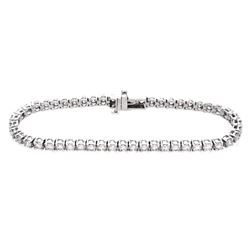 14KT White Gold 5.00ctw Diamond Tennis Bracelet