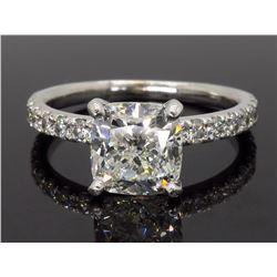 14KT White Gold 2.58ctw Diamond Ring
