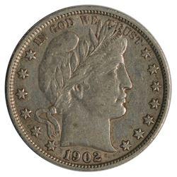 1902 Barber Half Dollar Coin