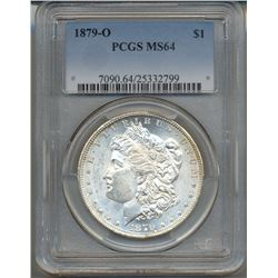 1879-O $1 Morgan Silver Dollar Coin PCGS MS64