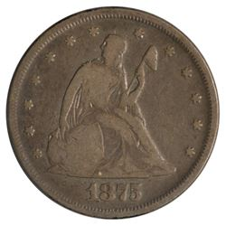 1875 Twenty Cent Coin