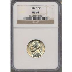 1944-D Jefferson Nickel NGC MS66