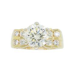 14KT Yellow Gold 2.50ctw Diamond Ring