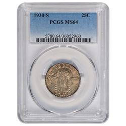 1930-S Standing Liberty Quarter PCGS MS64