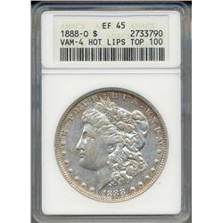 1888-O $1 Morgan Silver Dollar Coin ANACS VAM4