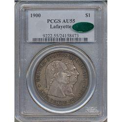 1900 $1 Lafayette Commemorative Dollar PCGS AU55