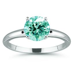 Sterling Silver 6.80ct Moissanite Ring